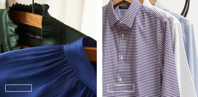 Kadın Bluz, Erkek Gömlek