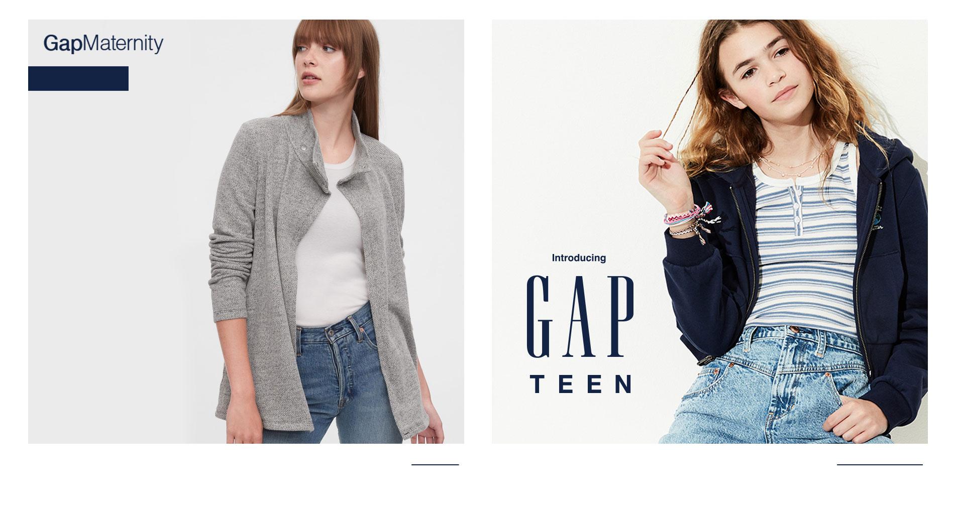 Gap Logo, Gap Teen.