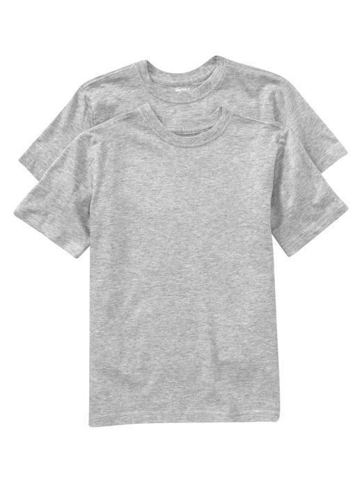 Kısa Kollu Bisiklet Yaka T-shirt (İkili Paket)