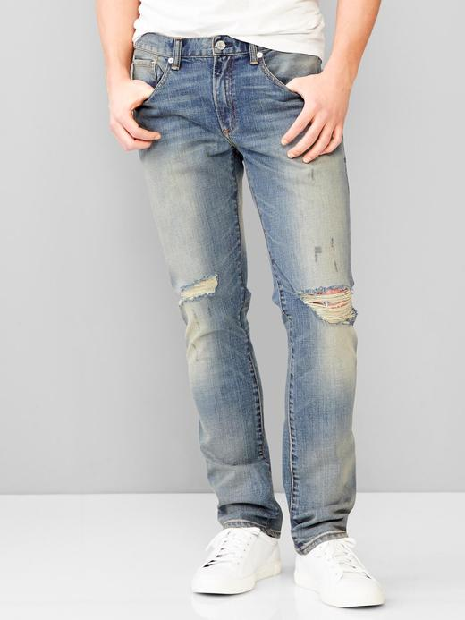 1969 skinny fit jean (ntique destroyed wash)
