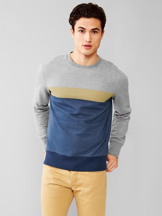 Çizgili sweatshirt