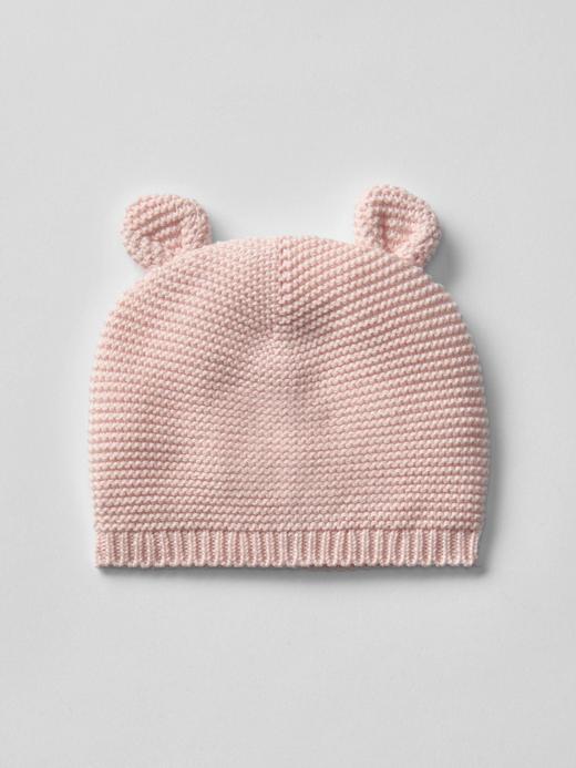 Bebek açık pembe Örgü şapka