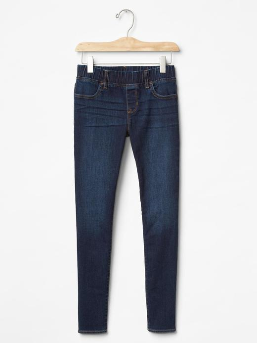Kız Çocuk indigo 1969 streç legging jean pantolon