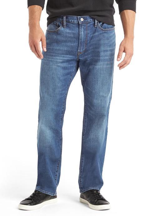 Erkek denim 1969 Straight fit jean pantolon