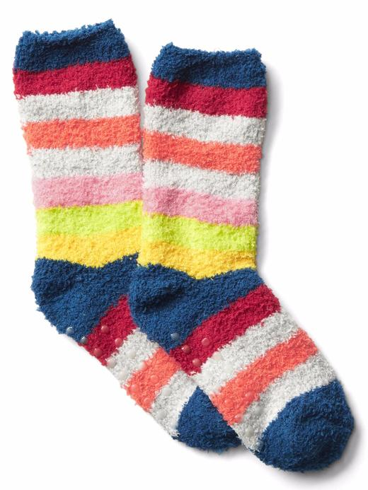 Çizgili yumuşak çorap