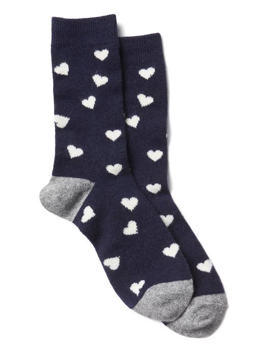 Desenli çorap (2 parça)