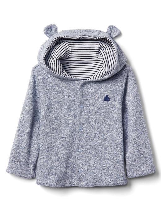 Çift taraflı ayıcık sweatshirt