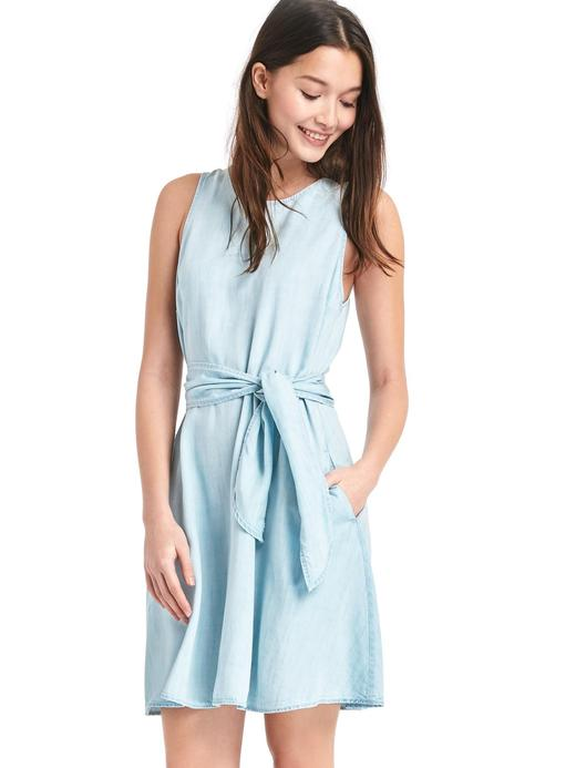 Tencel® fit&flare elbise