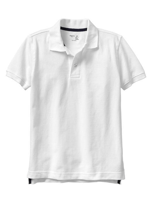 Erkek Çocuk Beyaz Polo t-shirt