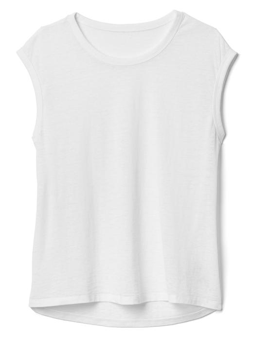 Kadın Beyaz Jarse t-shirt