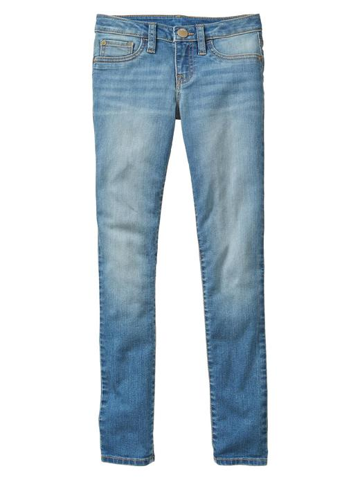 Light wash super skinny jean pantolon