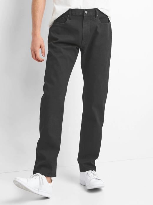 Athletic taper fit streçli jean pantolon