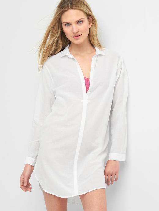beyaz DreamWell gömlek elbise