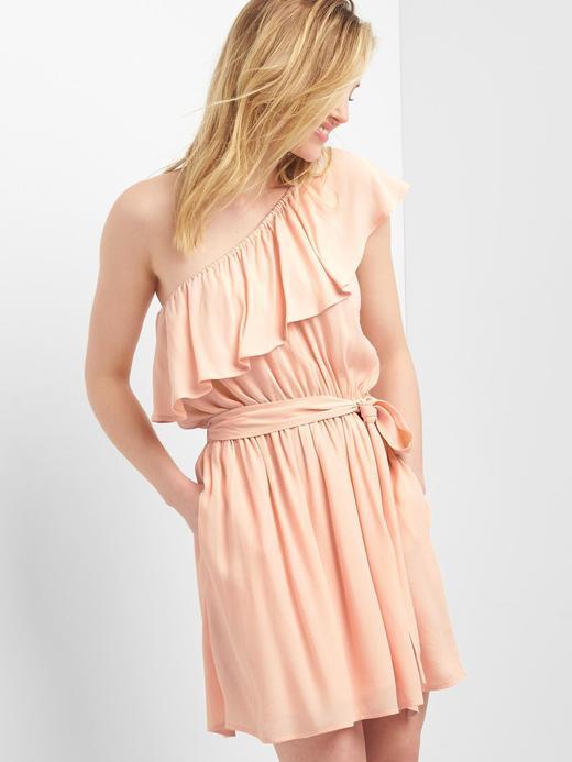 Tek omuzlu elbise