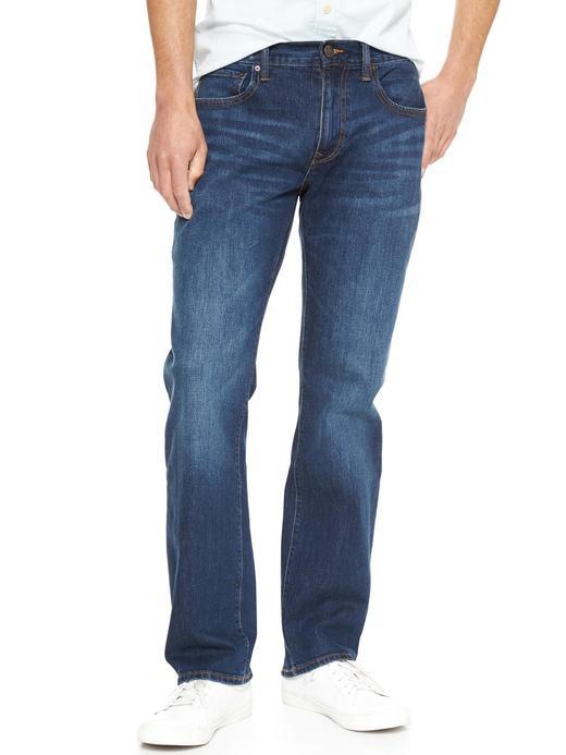 Straight fit streç jean pantolon