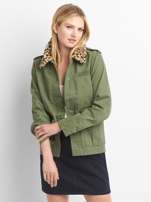 Suni kürk detaylı ceket
