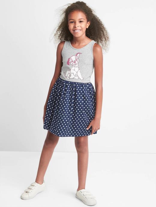 puantiyeli GapKids | Disney 101 Dalmaçyalılar desenli elbise