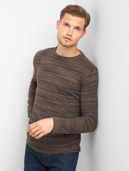 Softspun uzun kollu t-shirt