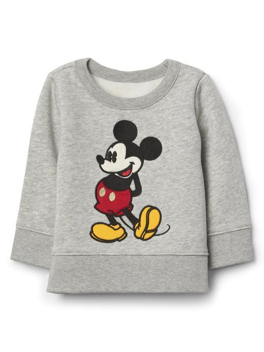 babyGap | Disney Baby Mickey Mouse sıfır yaka sweatshirt