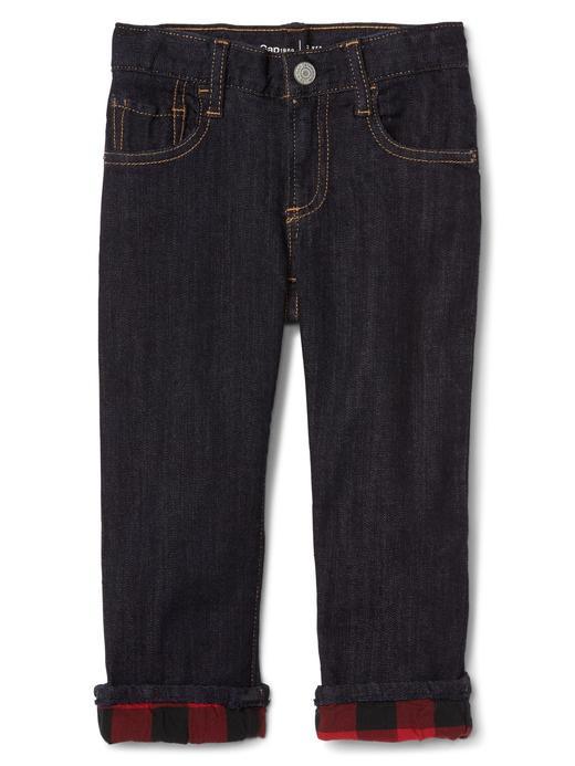 Streç straight jean pantolon