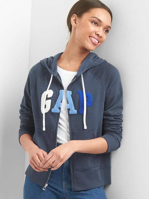 Gap logolu kapüşonlu sweatshirt