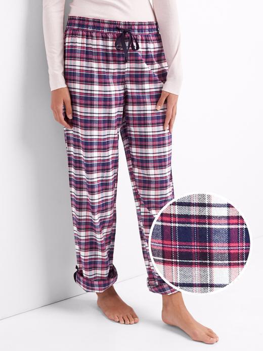 Paçaları Kıvrık Pijama Altı