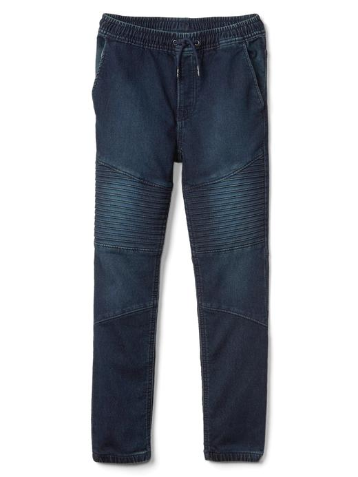 Denim supersoft jogger pantolon