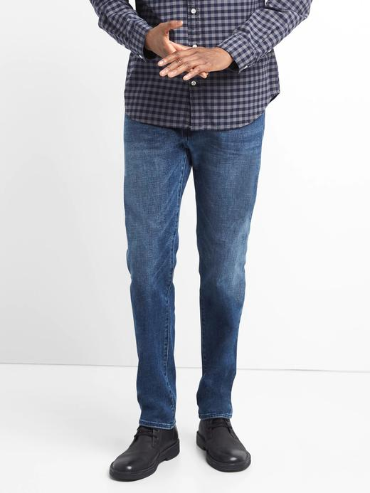 Straight fit GapFlex jean pantolon