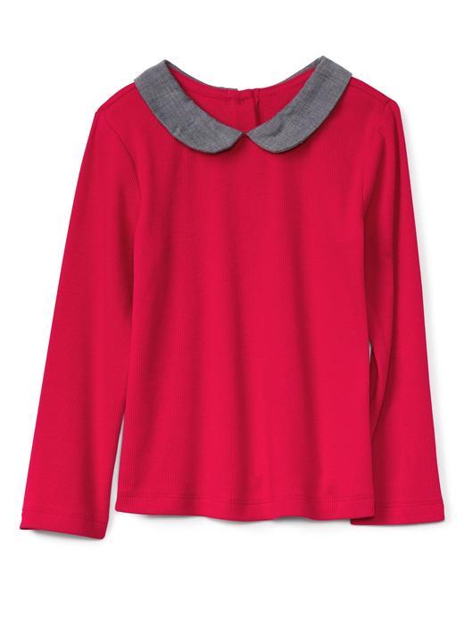 Bebek Kırmızı Uzun kollu bluz