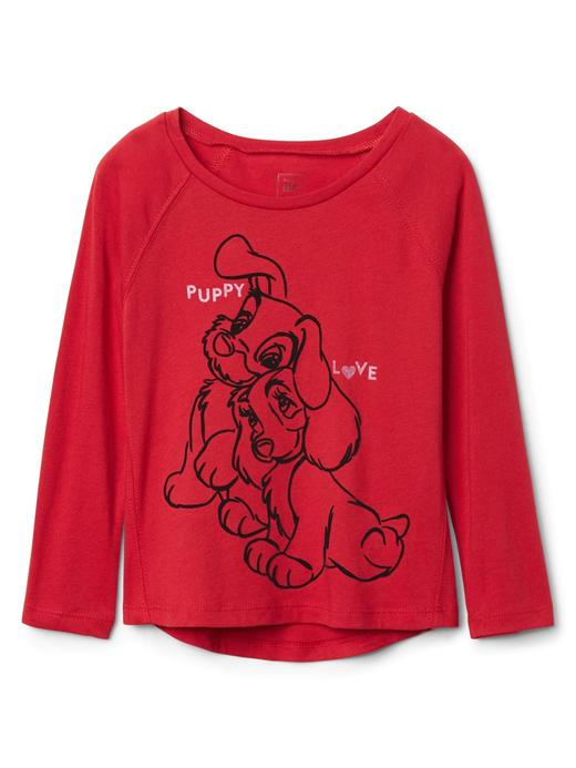 GapKids | Disney Minnie Mouse uzun kollu t-shirt