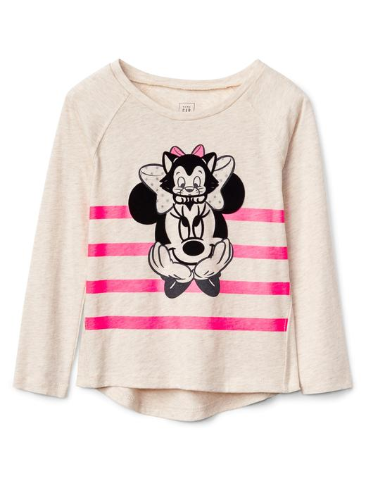 GapKids | Disney Minnie Mouse uzun kollu t-shirt