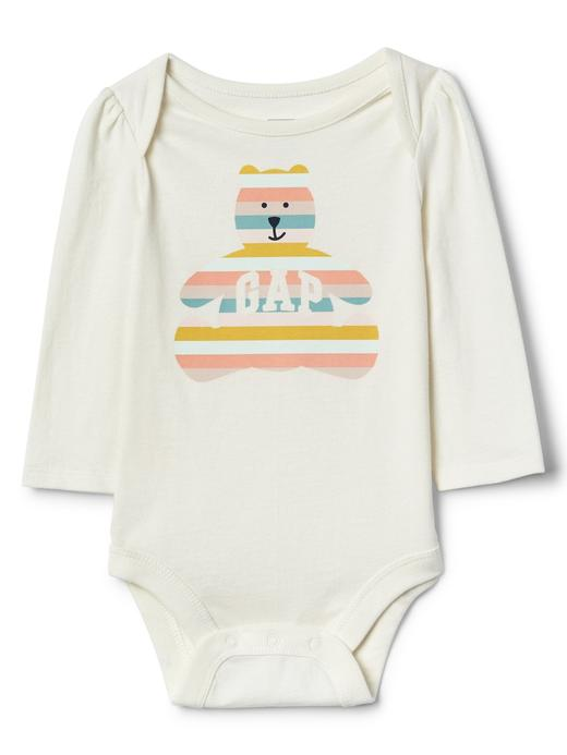 Bebek renkli Ayıcık Desenli Gap Logo Body