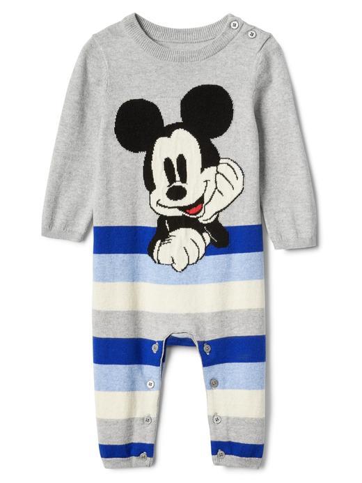 babyGap | Disney Baby Mickey Mouse çizgili tulum