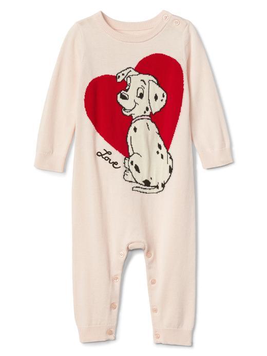 babyGap | Disney Dalmaçyalılar uzun kollu tulum