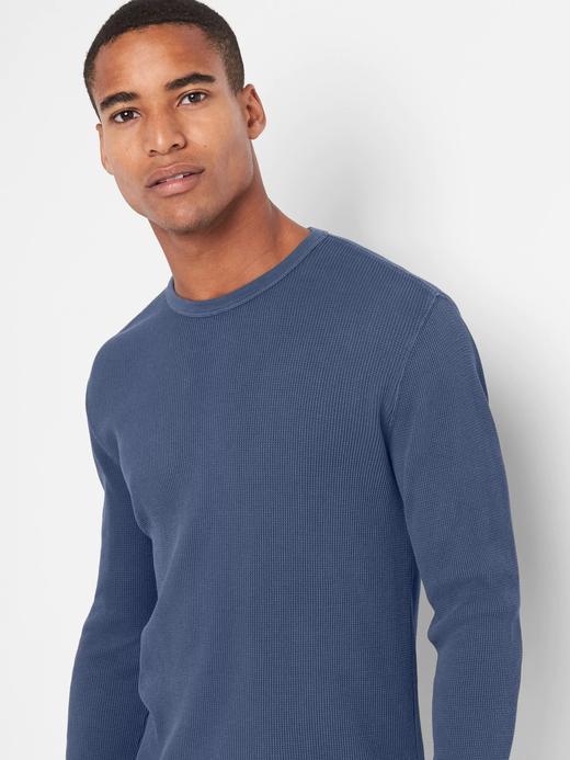 lacivert Uzun kollu sıfır yaka t-shirt