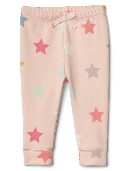 Yıldız desenli pantolon
