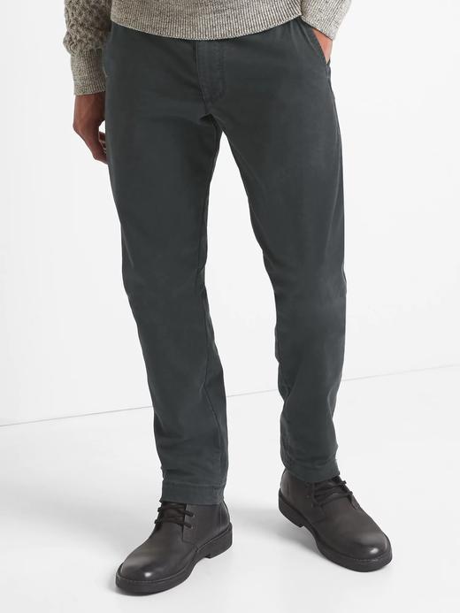 Astarlı slim fit streçli pantolon
