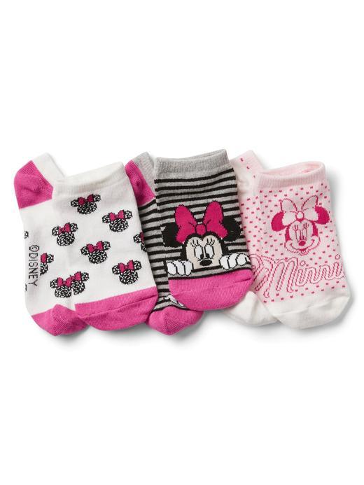 GapKids | Disney Minnie Mouse 3'lü çorap