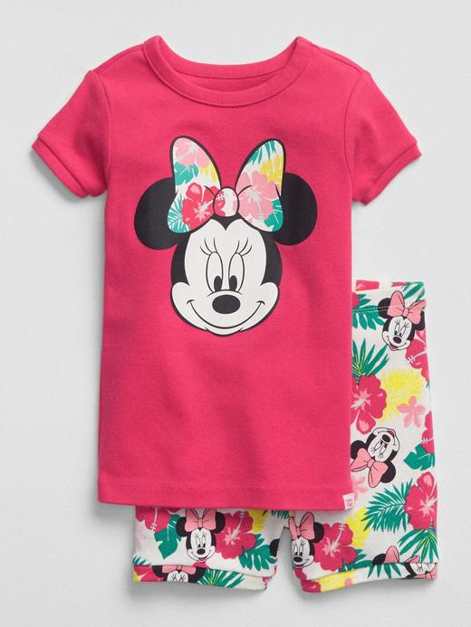 Bebek fuşya babyGap | Disney Minnie Mouse pijama takımı