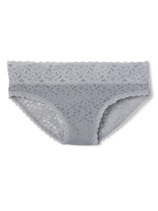 Kadın pembe Dantel Bikini Külot