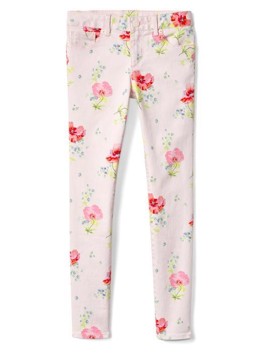 Superdenim super skinny çiçek desenli Fantastiflex jean pantolon
