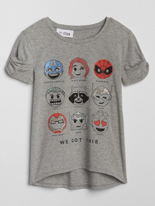 GapKids | Marvel© kısa kollu t-shirt