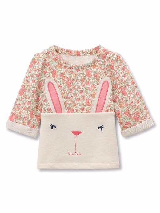 renkli Tavşan desenli üst