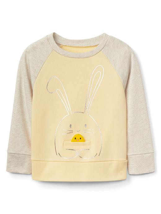 Desenli sweatshirt