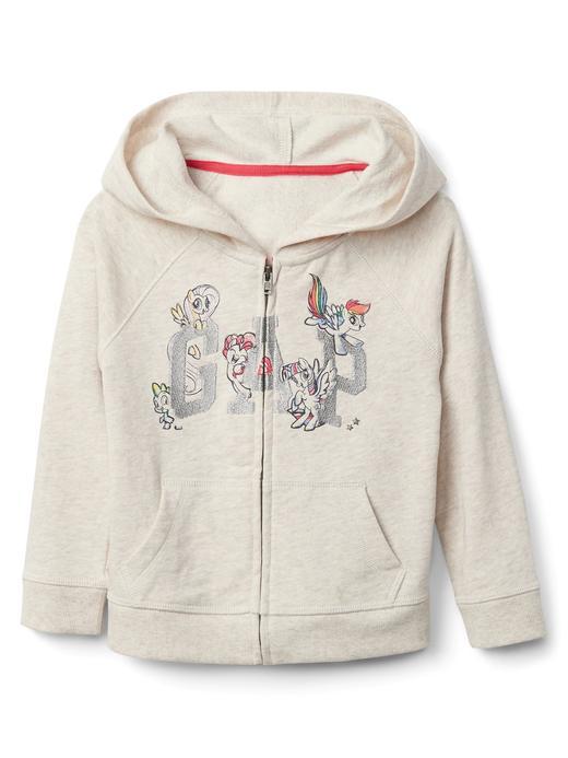 babyGap | Hasbro© kapüşonlu sweatshirt