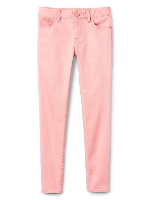 Kız Çocuk pembe Superdenim skinny Fantaflex jean pantolon