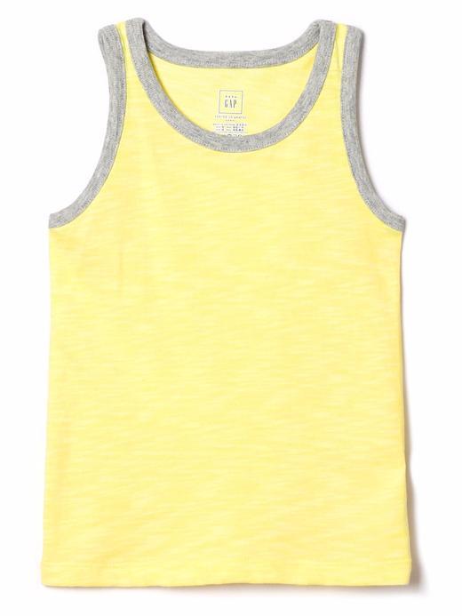Bebek sarı Düz renk atlet