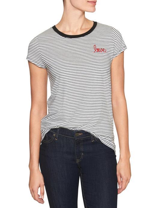 Love kısa kollu t-shirt
