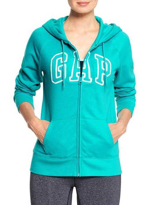 Logolu reglan kollu sweatshirt