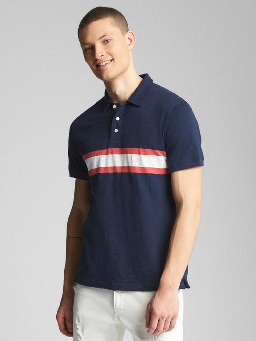 lacivert Kısa kollu polo t-shirt